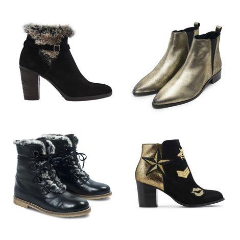 Sélection de boots fourrées et bottines femme - Style for U