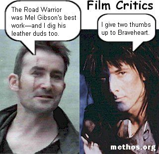 Film critics<<What even WAS Highlander the Series? It was a fever dream wrapped in bad wigs and hammy dialogue.