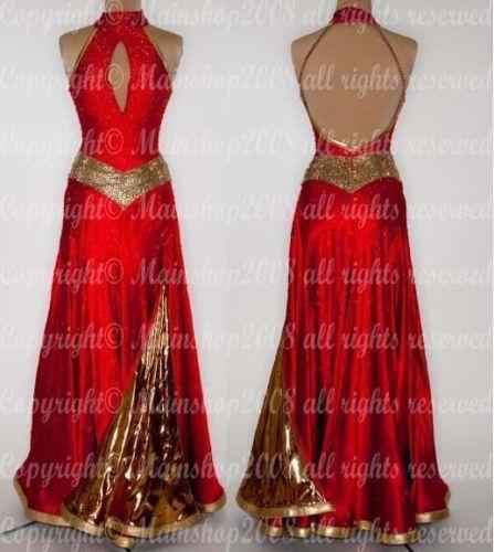 A4417-Elegant-Ballroom-Women-Tango-Waltz-salsa-Foxstep-dance-dress-Tailor-made