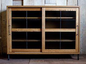 【予約受付中】スプレム キッチンボード 1200 splem kitchen board 1200 オーク材の木目が美しいキッチンボード