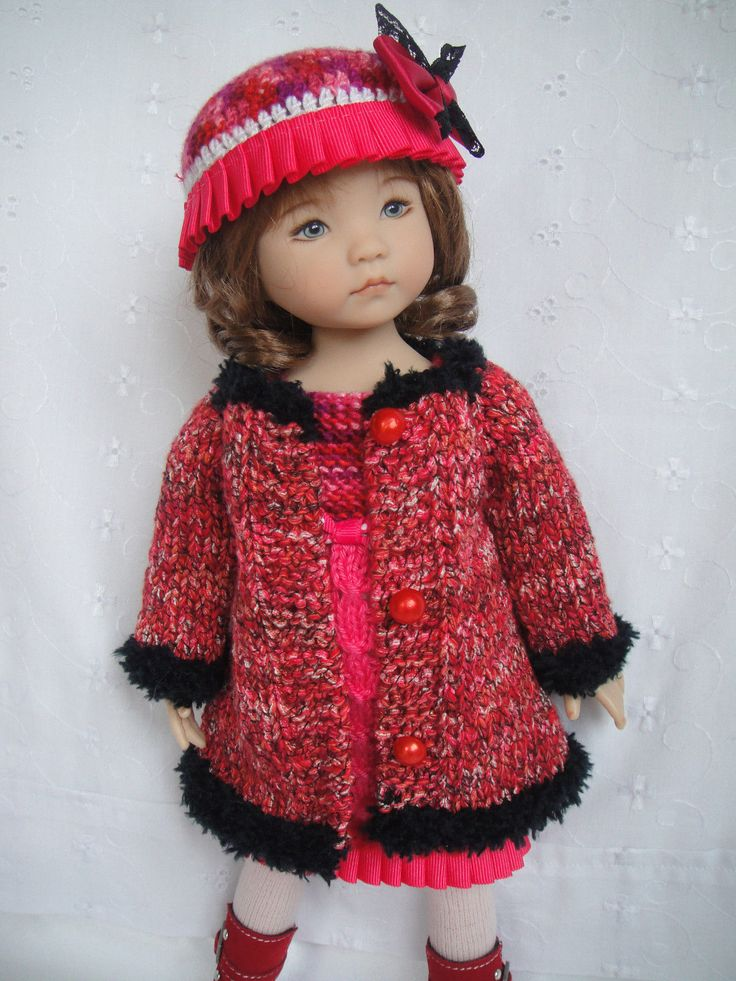 Handknitted Outfit for Little Darling Doll 13 inches Dianna Effner | eBay
