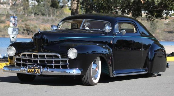 1947 Mercury lead sled