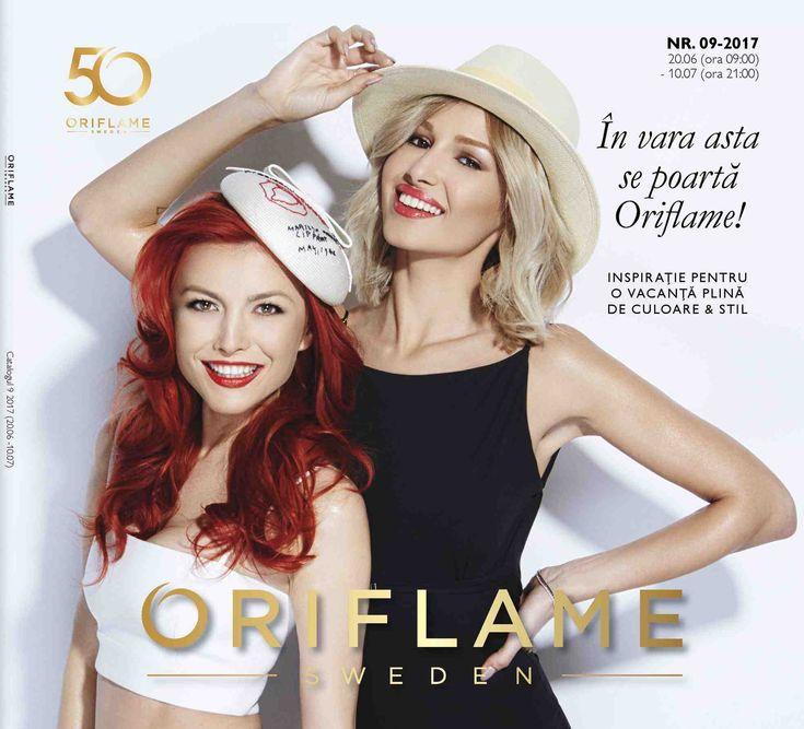 Catalog Oriflame Romania Campania 9 2017 - Brosura C9 2017 oferte in perioada 20 Iunie - 10 Iulie 2017! Oferte: NOU apa de toaleta Northern Beauty 24,99 lei
