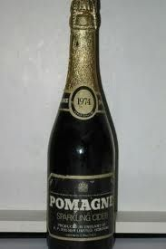 Pomagne. We were allowed to drink this at Christmas and felt so grown up.
