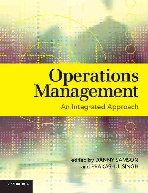 operational management approaches by shell company Manufacturing companies are collecting large volumes of data from data  and  contributing in meaningful ways to operational excellence.