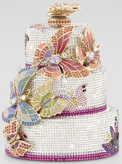 judith-leiber-butterfly-cake-minaudiere - Purses, Designer Handbags and Reviews at The Purse Page