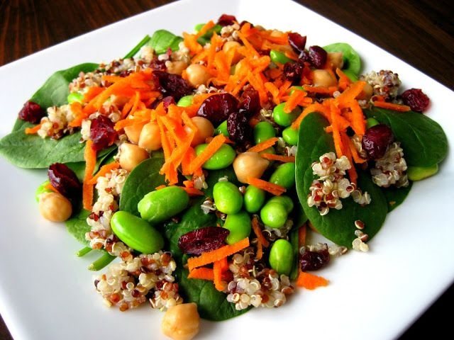 ... quinoa, chickpeas and pumpkin seeds. Optional : Balsamic Vinaigrette