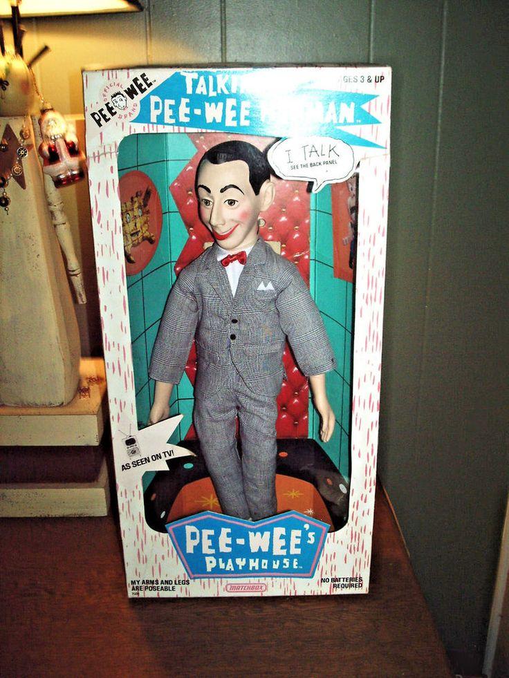 NEW IN PACKAGE PEE WEE'S PLAYHOUSE TALKING PEE WEE HERMAN  #Matchbox