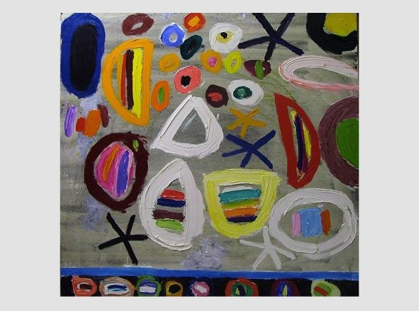 Gillian Ayres | Paintings | Works on paper | Editions | Monoprints - Gillian Ayres - Paintings