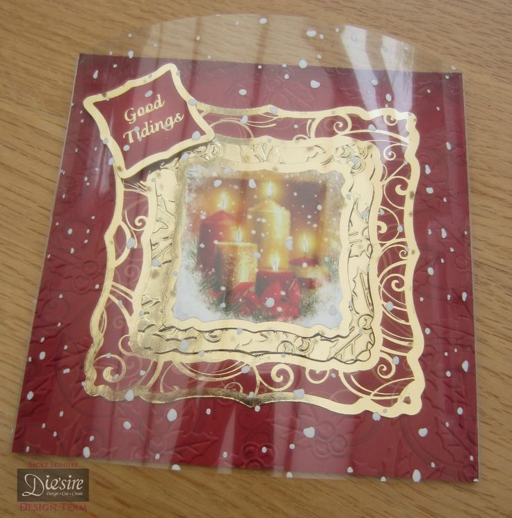 Crafters Companion Vintage Christmas Embossing Folders