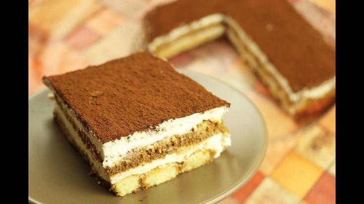 حلى التراميسو الفاخر بدون بيض بطريقة سهلة وسريعة حلى بدون فرن مع رباح مح Desserts Tart Recipes Food
