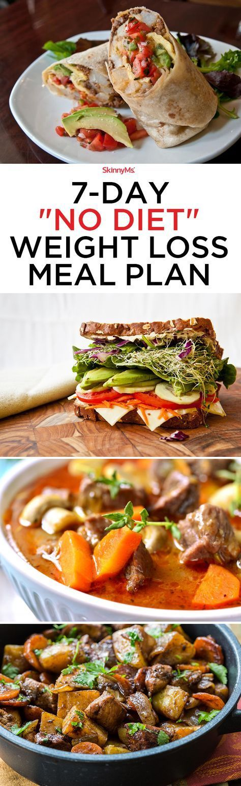 """If you're ready for big change, it's time to get started with our 7-Day """"No Diet"""" Weight Loss Meal Plan!"""