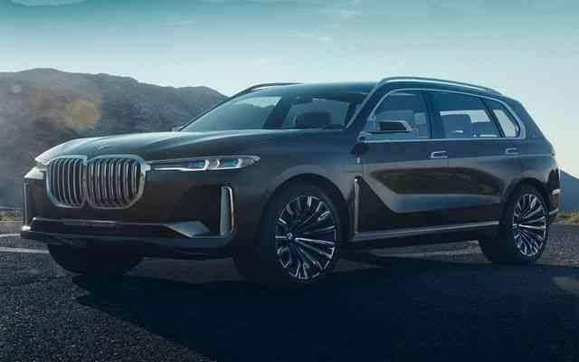 Novo 2019 BMW X7 iPerformance conceito disse sobre o cruzamento serial Novo BMW X7: Fotos, Preço, Ficha Técnica e Versões