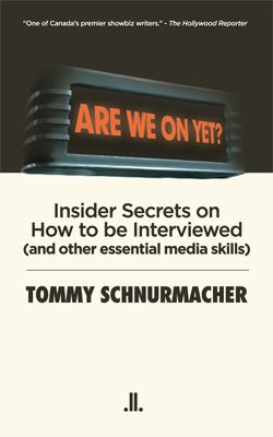 A terrific first review for Are We On Yet? by Tommy Schnurmacher