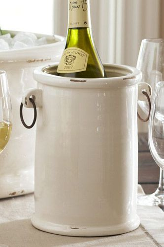 Pottery Barn Rhodes wine Cooler $39