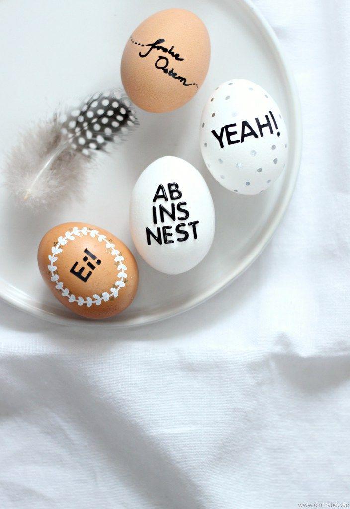 149 besten Ostereier bemalen & beplotten Bilder auf Pinterest ...