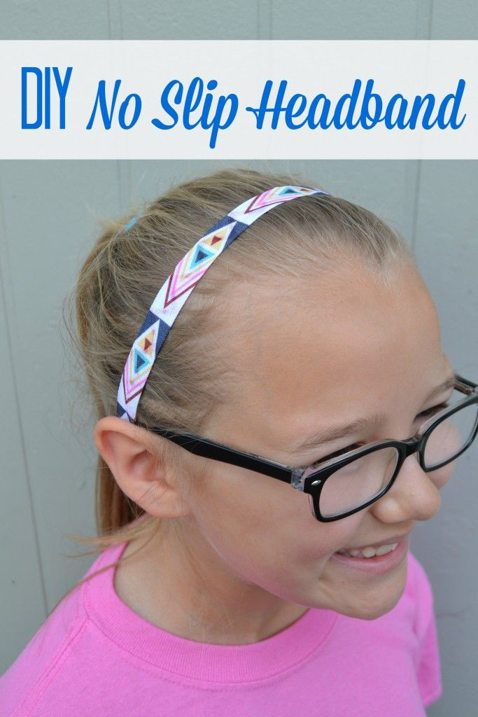 DIY No Slip Headbands are a hit with my girls. This easy DIY project is versatile, cheap and super easy to make!