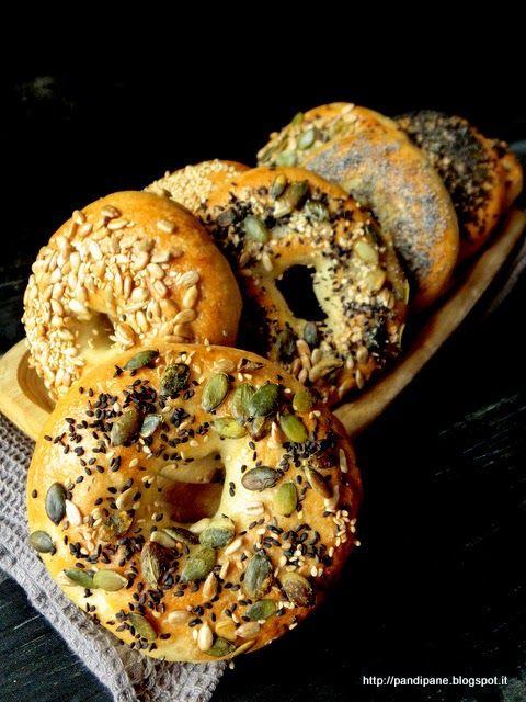 Pan di Pane: Ricetta Bagel con lievitazione naturale
