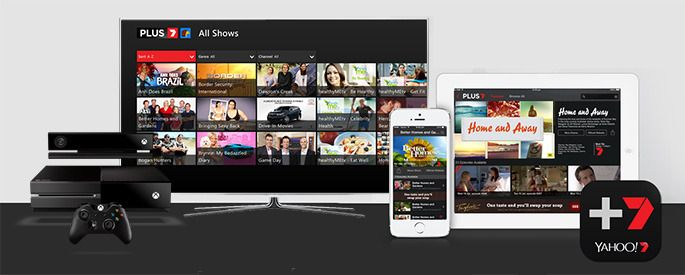 PLUS7 on Samsung, iOS, Android, XBox, hbbtv, Telstra T-Box, Fetch TV and Samsung Smart TVs, PS3 and PS4