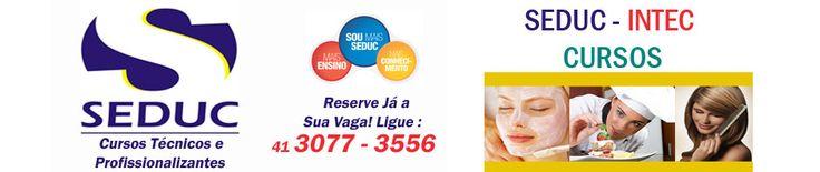 10 Cursos Profissionalizantes | Seduc - 41.3077-3556 - Intec Cursos Curitiba