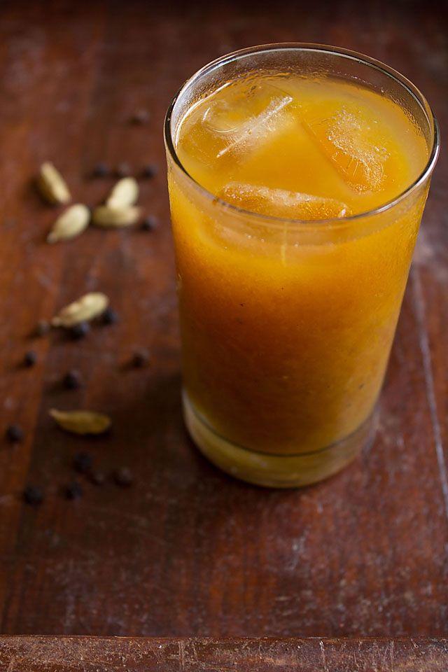 aam ka panna recipe, how to make aam ka panna or raw mango panna