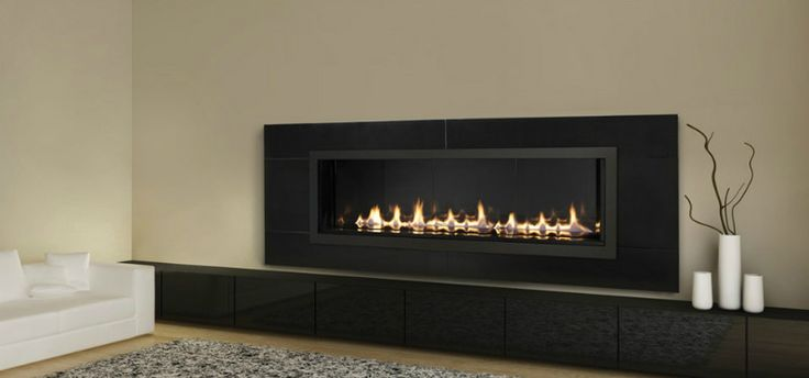 Linear fireplace design cool ideas for the house for Linear fireplace ideas