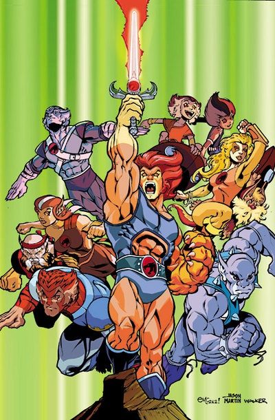 Thundercats... awesome show.