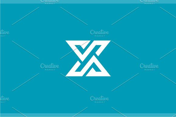 Letter X Logo by yopie on @creativemarket