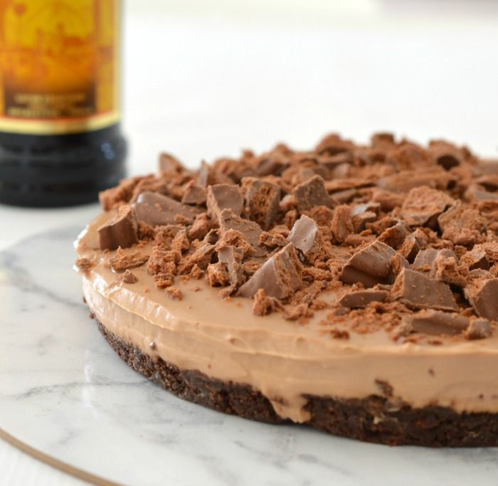 Topped with Tim Tams, my no bake Chocolate Kahlua Cheesecake is the perfect dessert for your next party. Thermomix instructions are also included