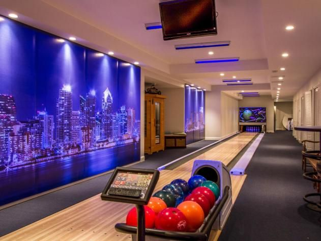 27 best Home Bowling Alley images on Pinterest | Home bowling ...