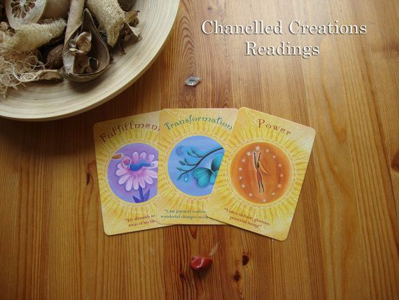 Intuitive Soul Oracle Card reading  3 cards by ChanelledCreations, £6.00