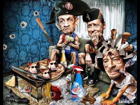 Карикатуры Riccardo Boscolo яркие, смешные и с глубоким смыслом
