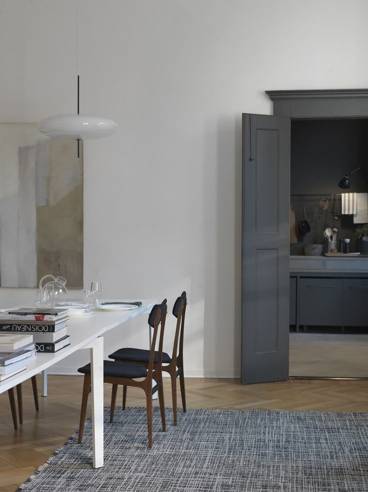 bolig indretning dansk design spisestue