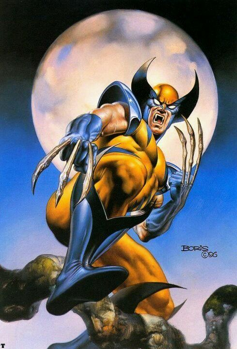 Wolverine by Boris Vallejo