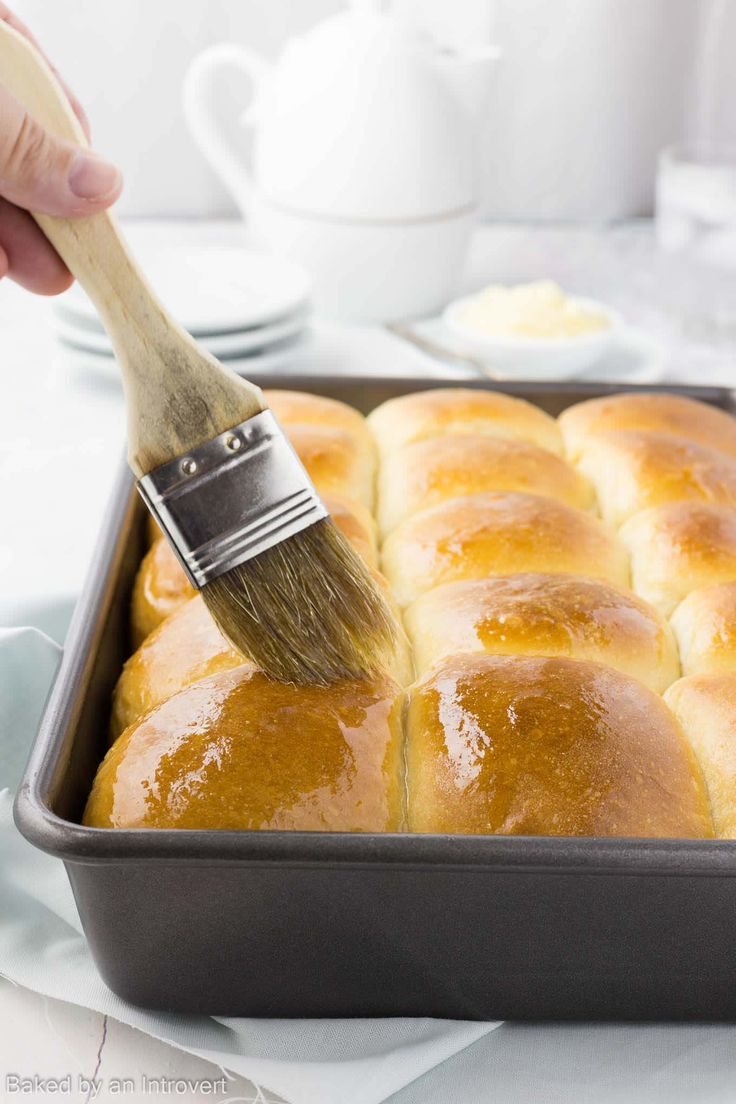 These soft, light, and fluffy Hawaiian sweet rolls are so easy to make. They don't require much work because a stand mixer does all the kneading for you.