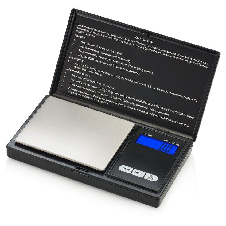 Smart Weigh SWS600 Elite Pocket Sized Digital Scale Best Offer. Review Smart Weigh SWS600 Elite Pocket Sized Digital Scale 600 x 0.1g, Black Highlights - Smart Weigh SWS600 Elite Pocket Sized Digital Scale #Smart #Weigh #Elite #Pocket #Sized #DigitalScale