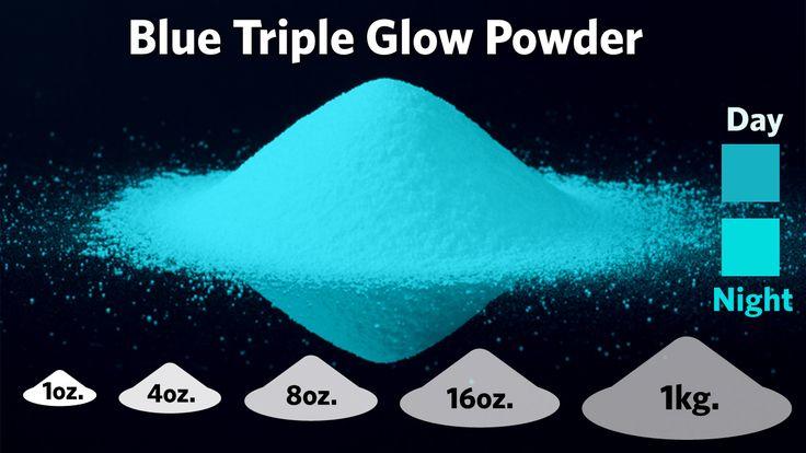 Blue Triple Glow Powder