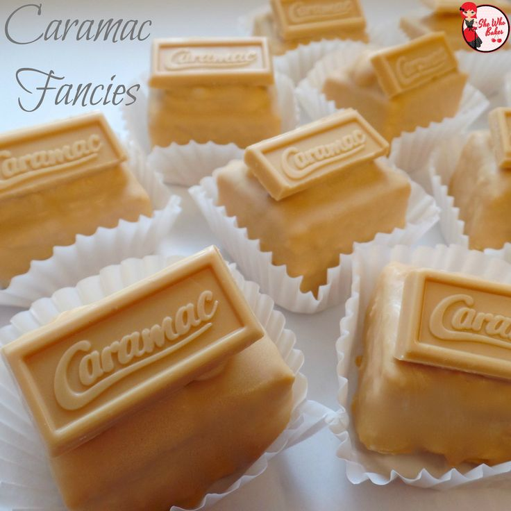 Caramac Fancies recipe
