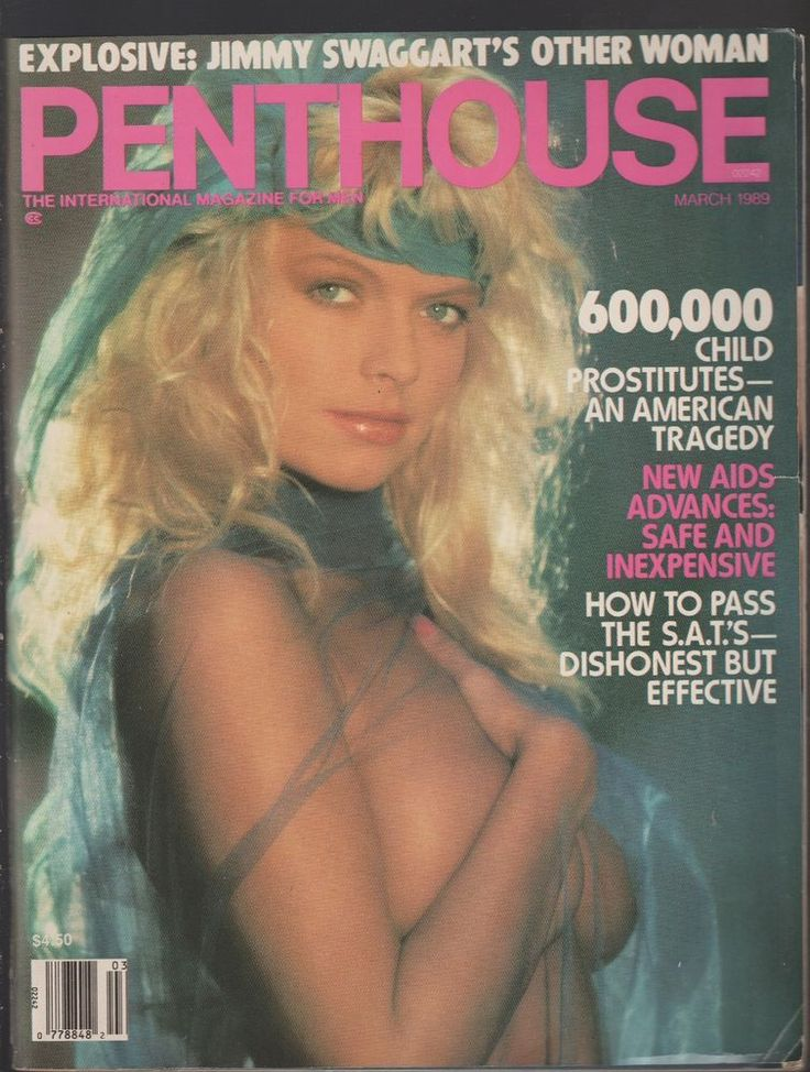 Penthouse March 1989