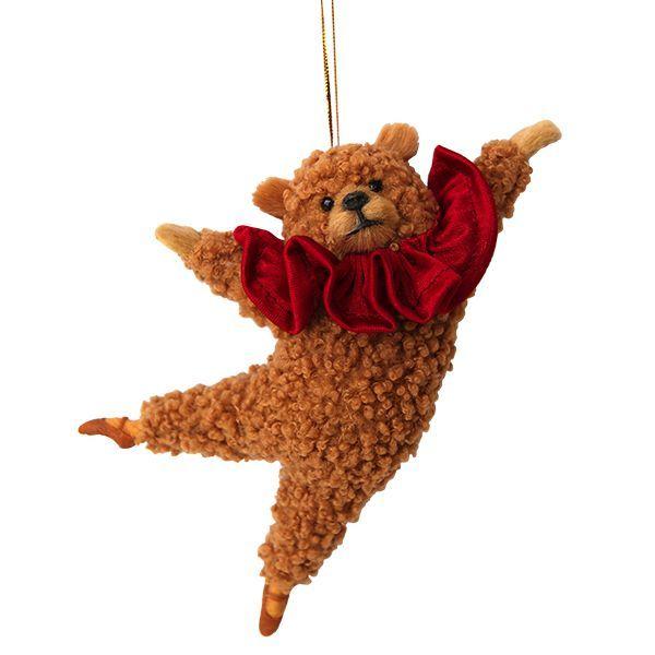 Nutcracker bear Ornament - Boston Ballet Shop