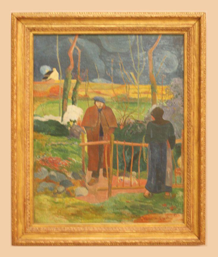 Eugène Henri Paul Gauguin (1848-1903) Bonjour, Monsieur Gauguin, 1889, oil on canvas Trade Fair Palace, Prague