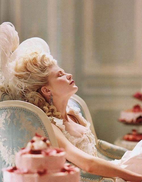 Marie Antoniette directed by Sofia Coppola