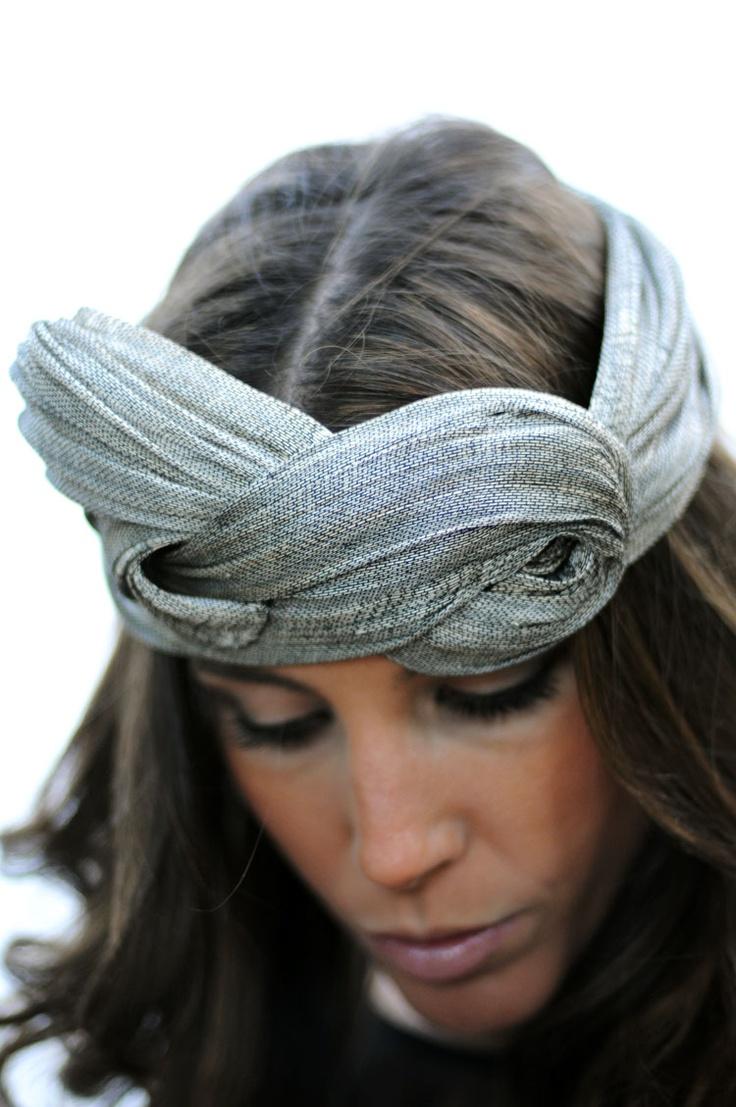 Cherubina headpiece - turban headband