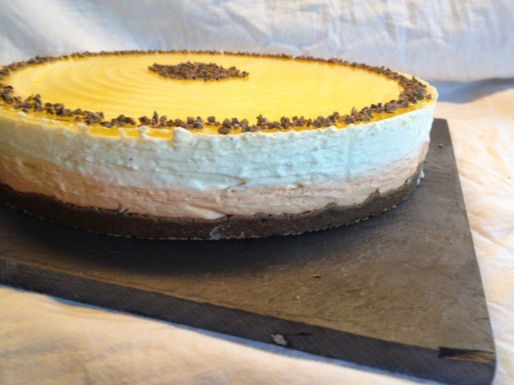 Appelsin cheesecake