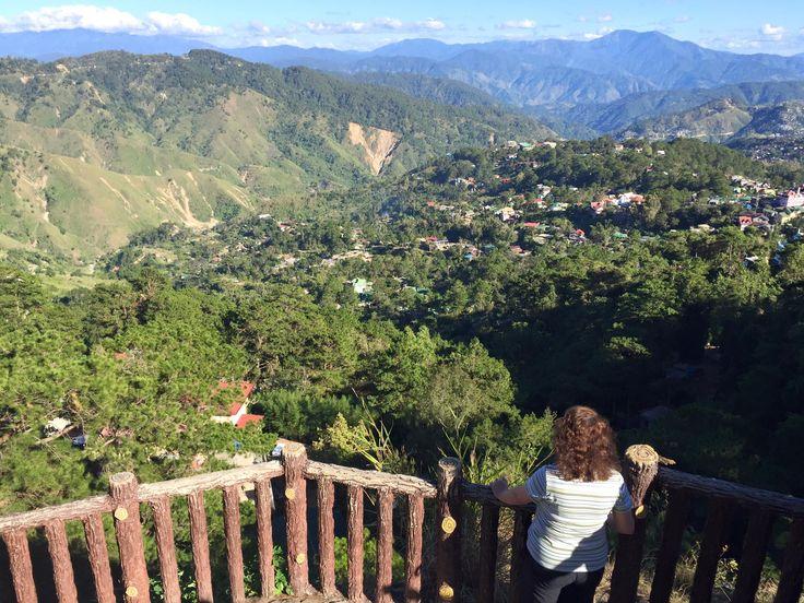 Der Ausblick bei Baguio ist atemberaubend.