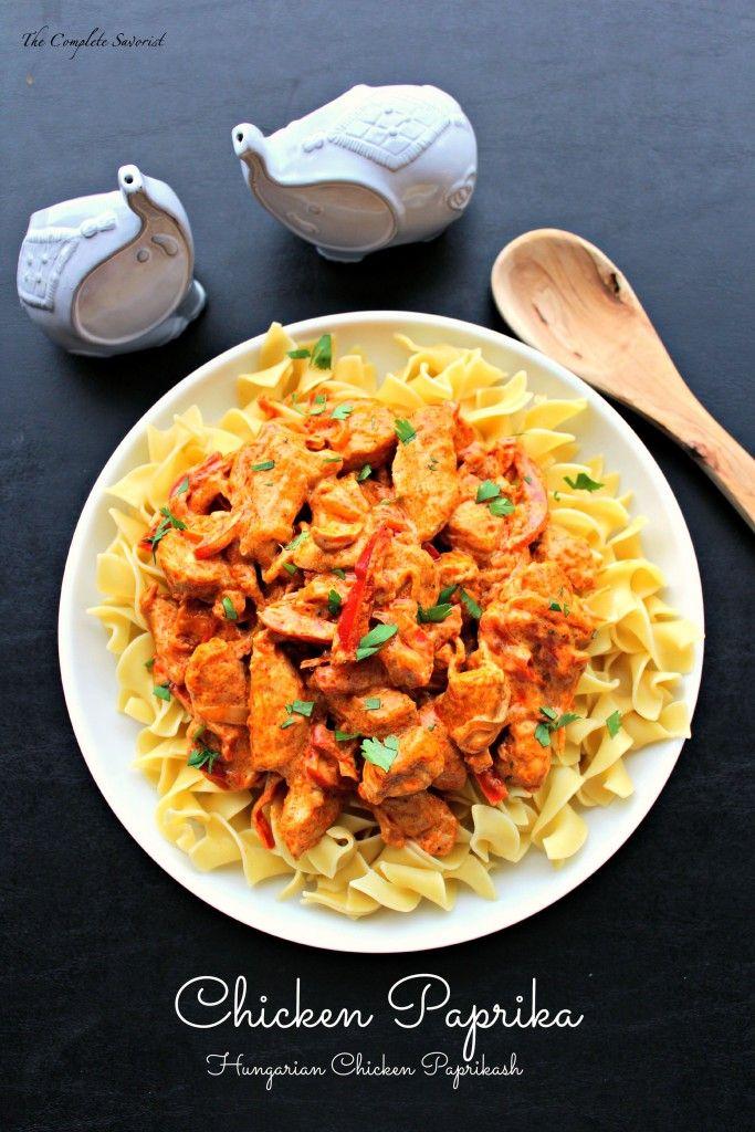 Chicken Paprika (Hungarian Chicken Paprikash)