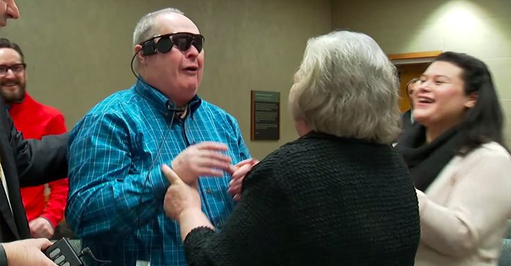 Allen Zderad of Forest Lake, Minnestoa is finally able to see his wife for the first time in over ten years thanks to a new clinical treatment.