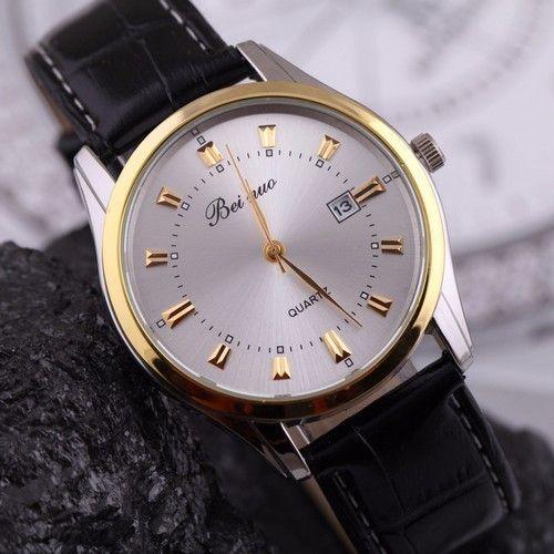 Elegantní pánské hodinky s černým koženým páskem a bílým ciferníkem + POŠTOVNÉ ZDARMA Na tento produkt se vztahuje nejen zajímavá sleva, ale také poštovné zdarma! Využij této výhodné nabídky a ušetři na poštovném, stejně jako …