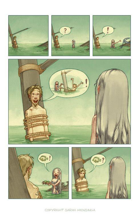 Mermaid Comic page 2 | webcomic | Pinterest | Mermaids ...