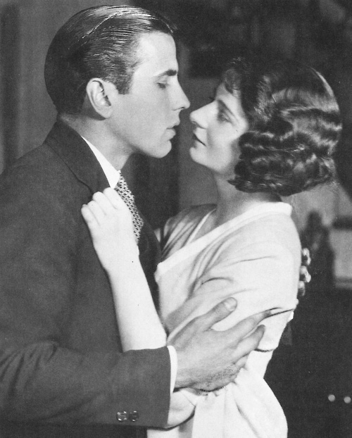 Humphrey Bogart and Shirley Booth in the play Hell's Bells 1925